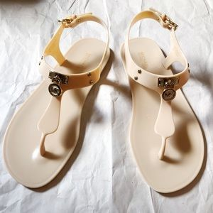 Michael Kors Hamilton Jelly Thong Sandal